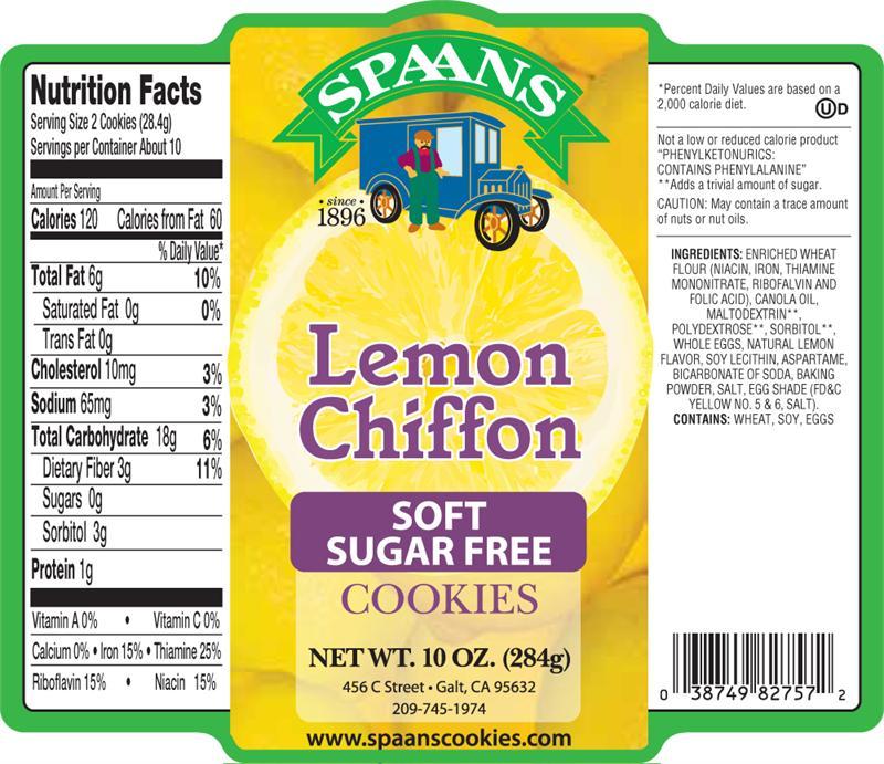 Soft Sugar Free Lemon Chiffon 10 Oz